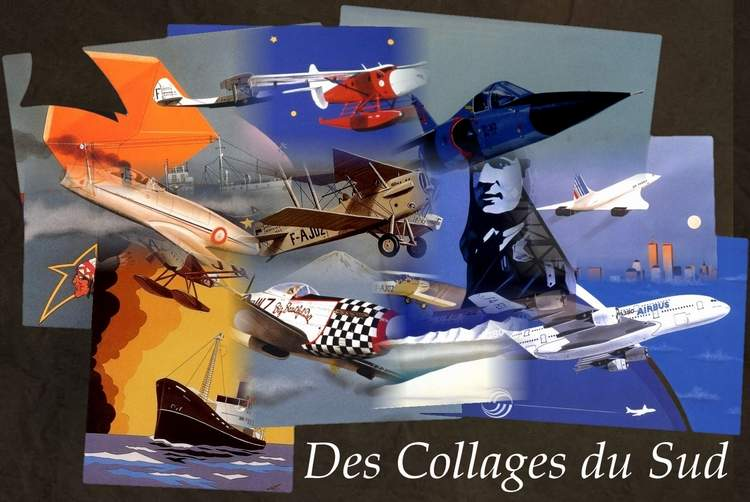 Des Collages du Sud - Jean-Pierre CONDAT